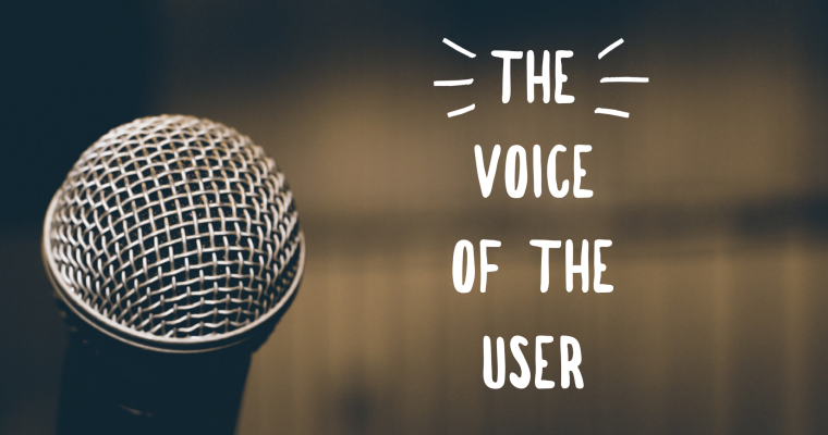 The Voice of The User Speech