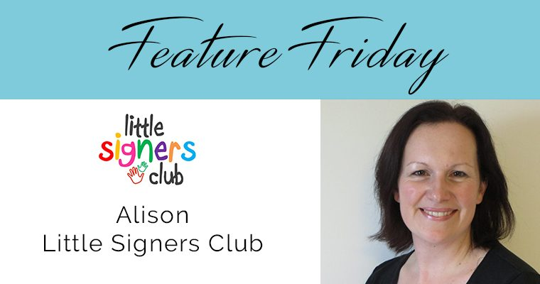 Feature Friday – Alison, Little Signers Club
