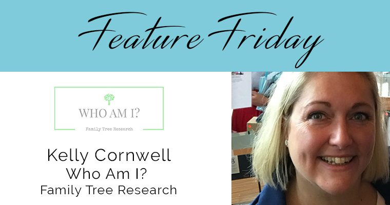 Feature Friday – Kelly, Who am I? Family Tree Research
